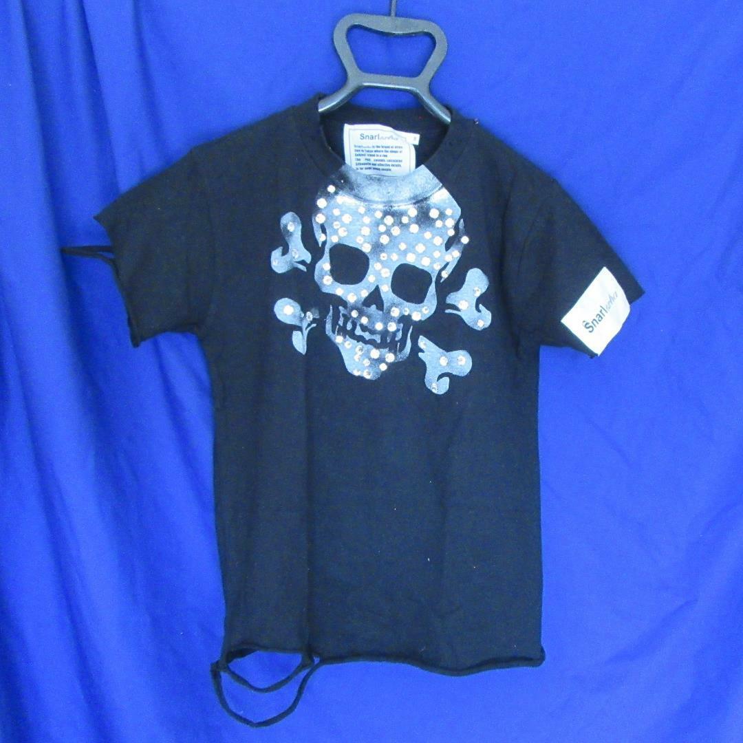 Snarl extra スカル Tシャツ Mサイズ 中古