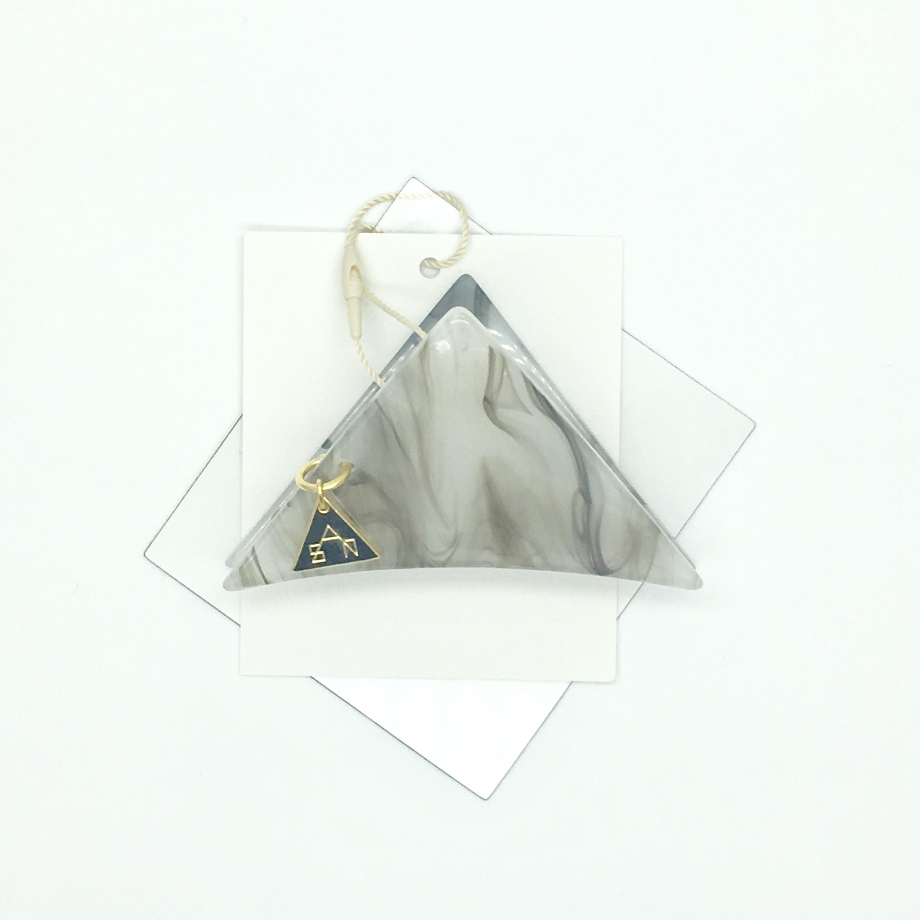 sAn 三角クリップSサイズ ホワイト