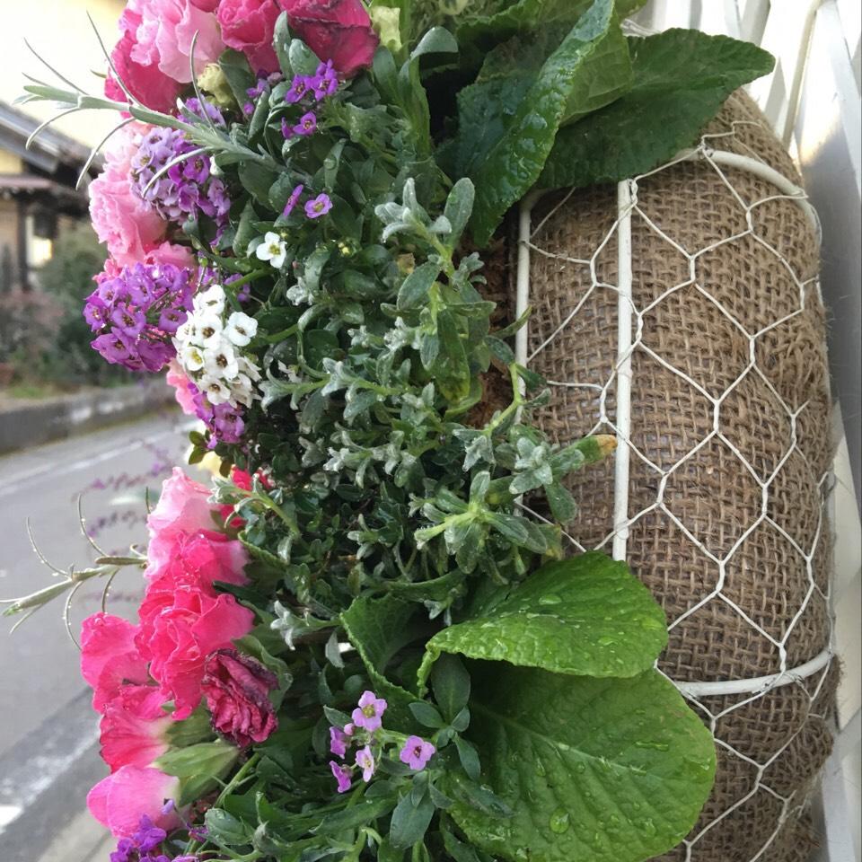 季節の花で作るオーダーメイドゴージャスリース - 画像3