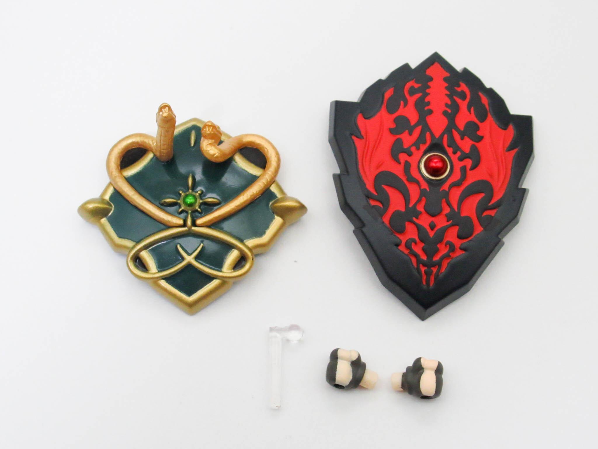 【1113】 盾の勇者 小物パーツ 盾2種 ねんどろいど