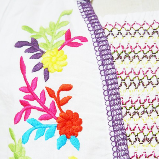エスニック刺繍チュニック