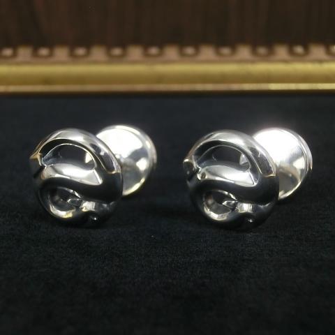R.S CUFFLINKS -silver925- ヘビのカフリンクス シルバー