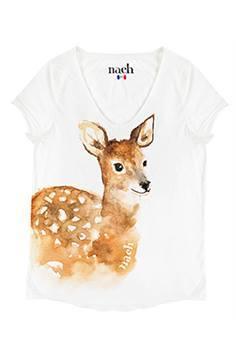 ナッシュ Tシャツ バンビ