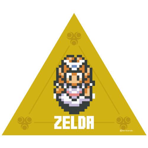 ゼルダの伝説  神々のトライフォースドットステッカー  5種  THE LEGEND OF ZELDA  /  エンスカイ