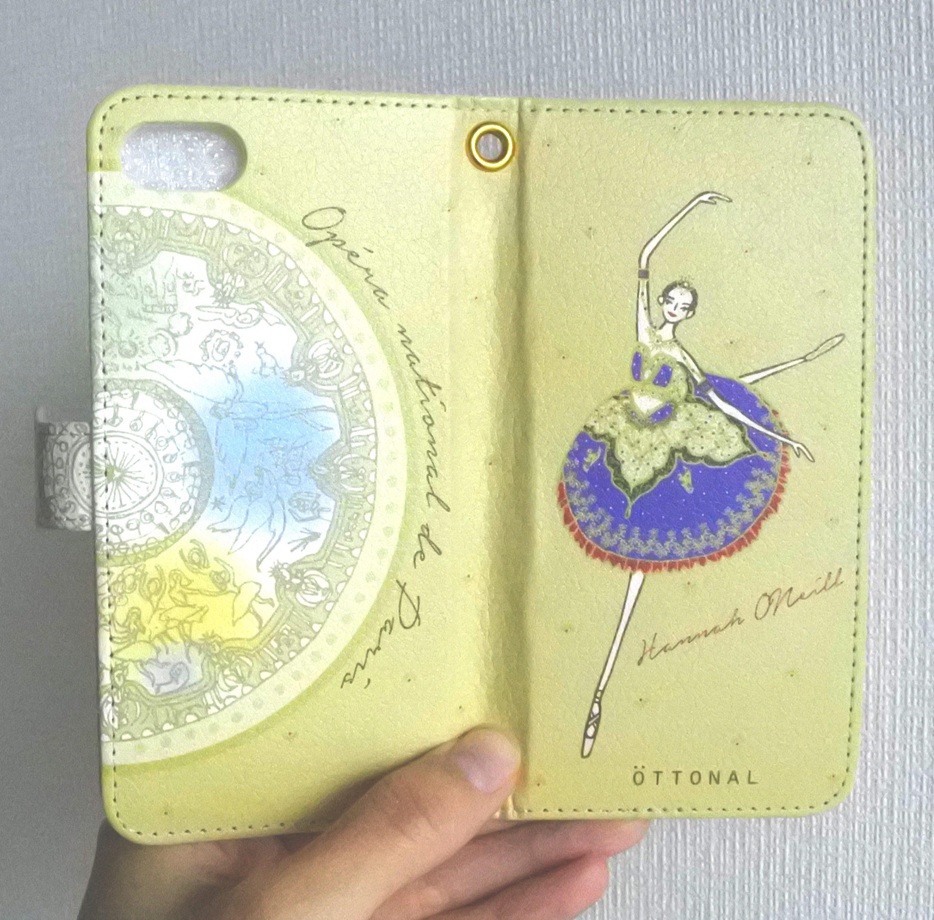 ★パリ・オペラ座コラボ★ (iPhone)オニールハナ 手帳型スマホケース - 画像3