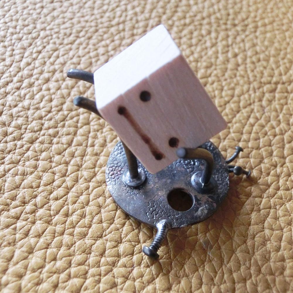 【海王星人】a  ~ オーナメント ☆ 真鍮 木 #1426