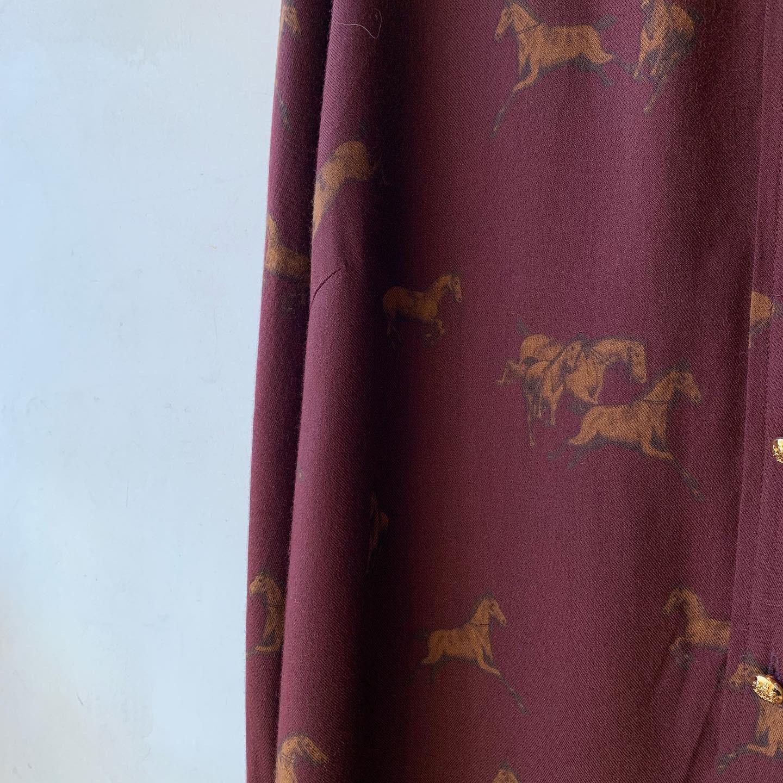 vintage Ralph Lauren horses design tops