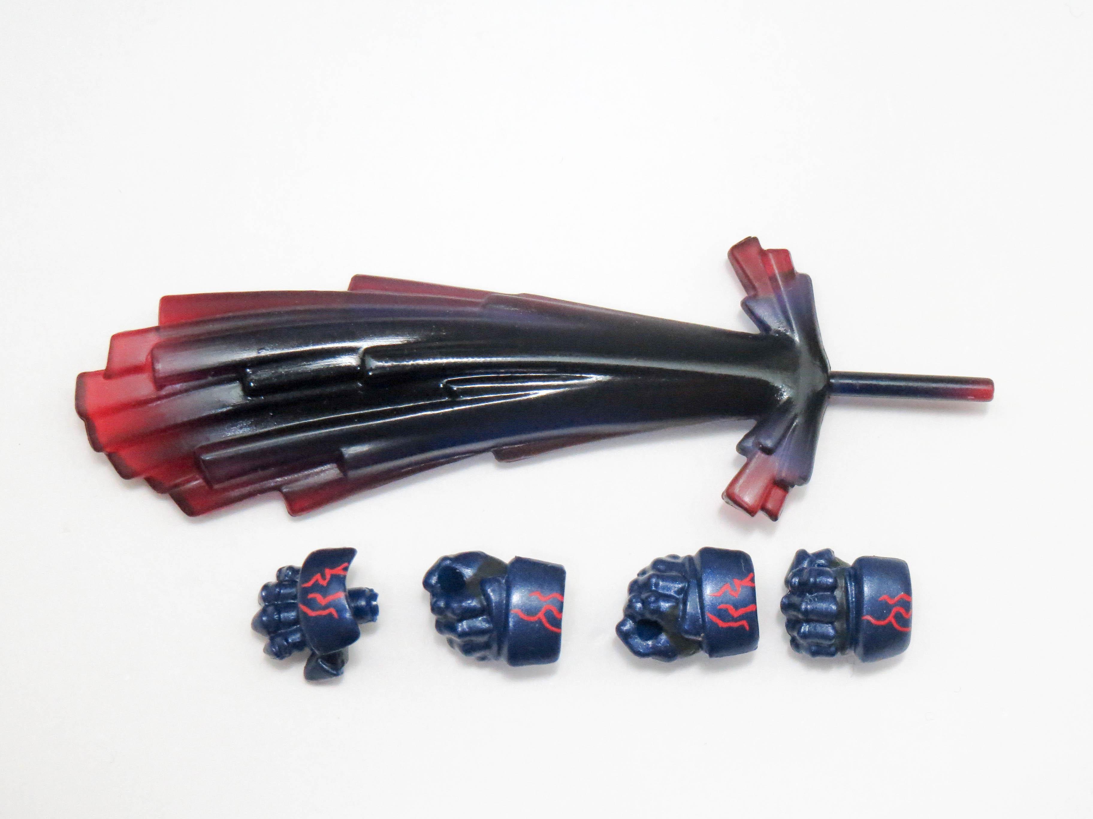 【363】 セイバーオルタ 小物パーツ 卑王鉄槌 (一部の持ち手付き)  ねんどろいど