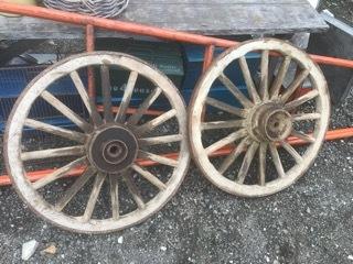レトロな車輪
