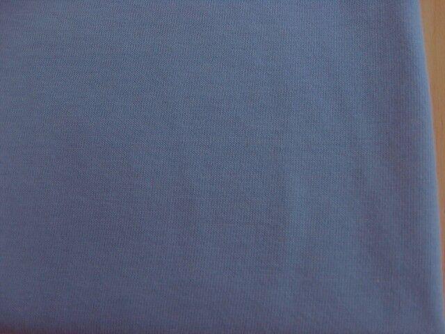 J&B定番 綿コーマ糸フライスニット スモークブルー NTM-2628