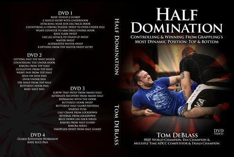 トム・デブラス ハーフ・ドミネーション 4枚組DVD