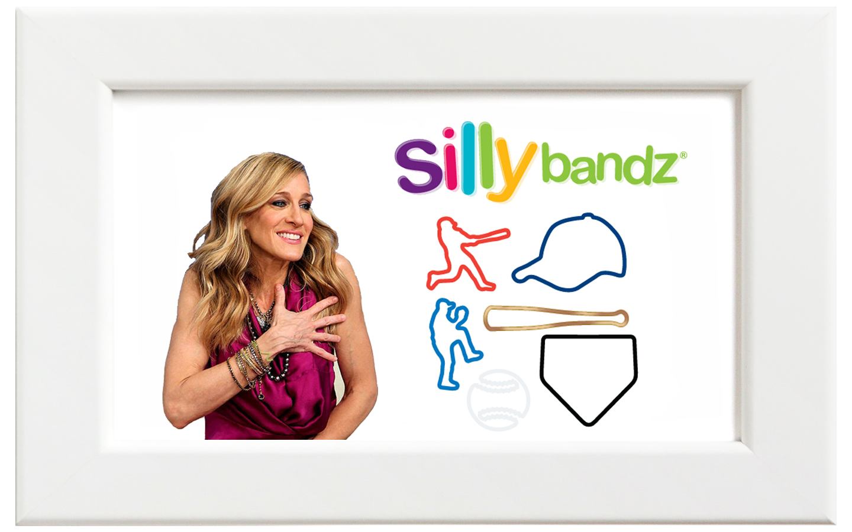 Silly bandz/シリーバンズ ベースボール