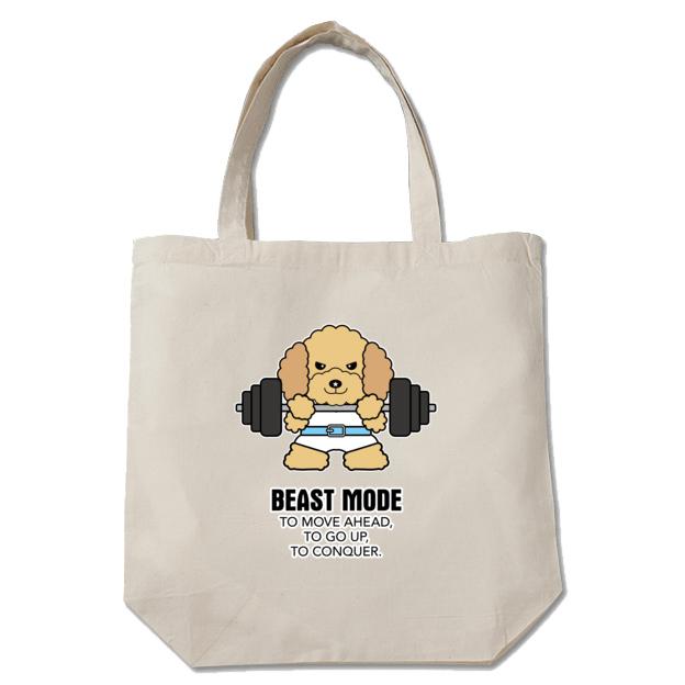【BEASTMODE】トートバッグ プードル