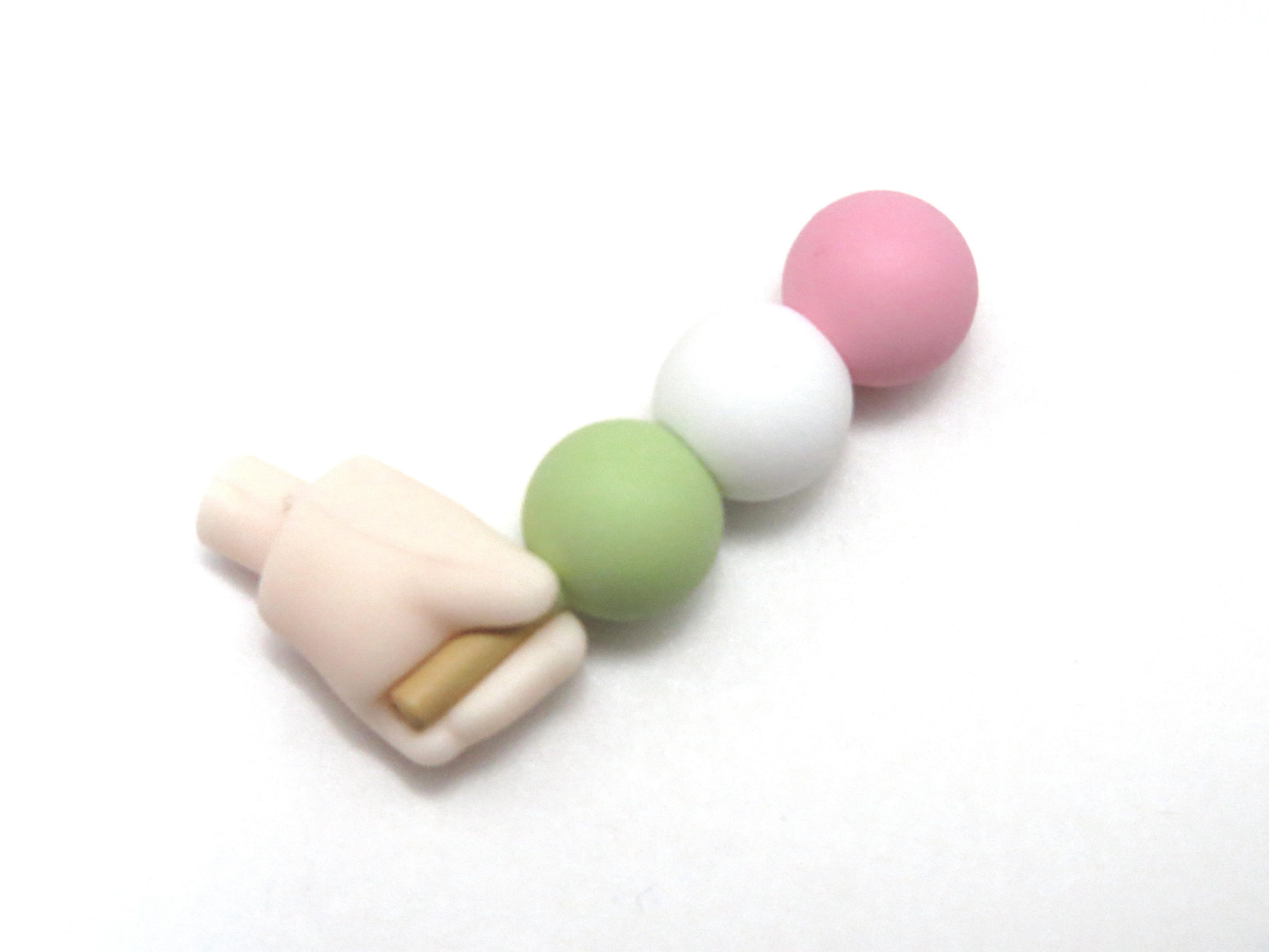 再入荷【500】 桜ミク Bloomed in Japan 小物パーツ 三色団子 ねんどろいど