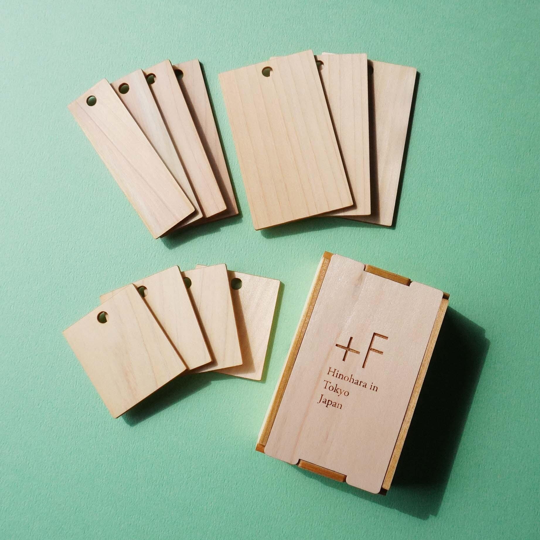 [+F]「Hinoki Card!」ヒノキの香りを毎日の暮らしに ※送料無料
