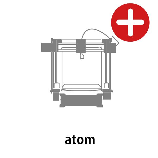 atom 3Dプリンター メンテナンスサービス - 画像1