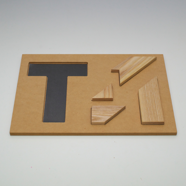 The T  型枠・原寸大問題シートセット