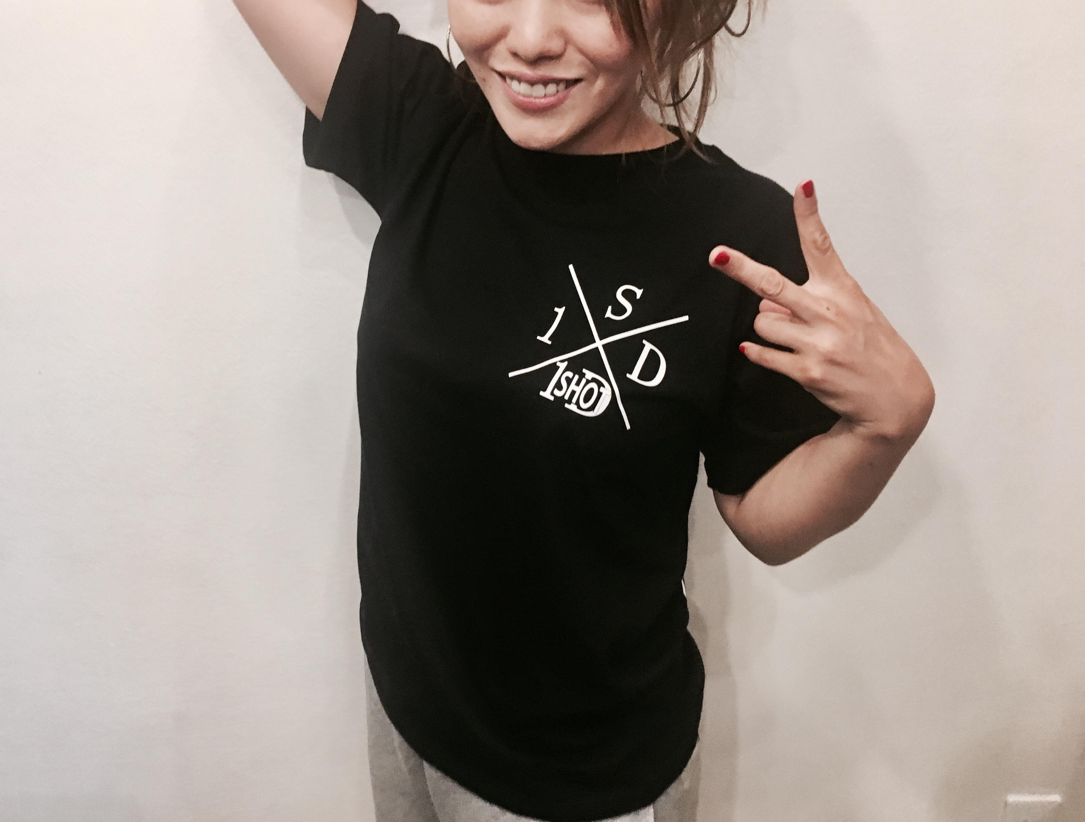 ONESHOTDOWN Xデザイン Tシャツ - 画像5