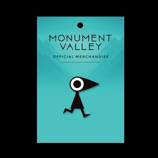 【Monument Valley(モニュメント・バレー) 】カラス・ピンズ - 画像1