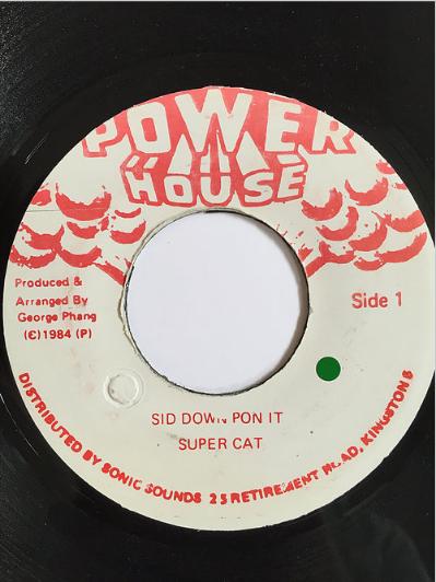 Super Cat(スーパーキャット) - Sit Down Pon It 【7inch】