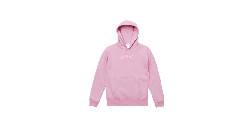 1991 hoodie (PNK)