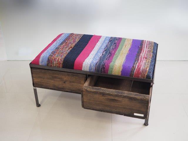 品番UNRW-106  2drawer ottoman[wade/chindy rug]