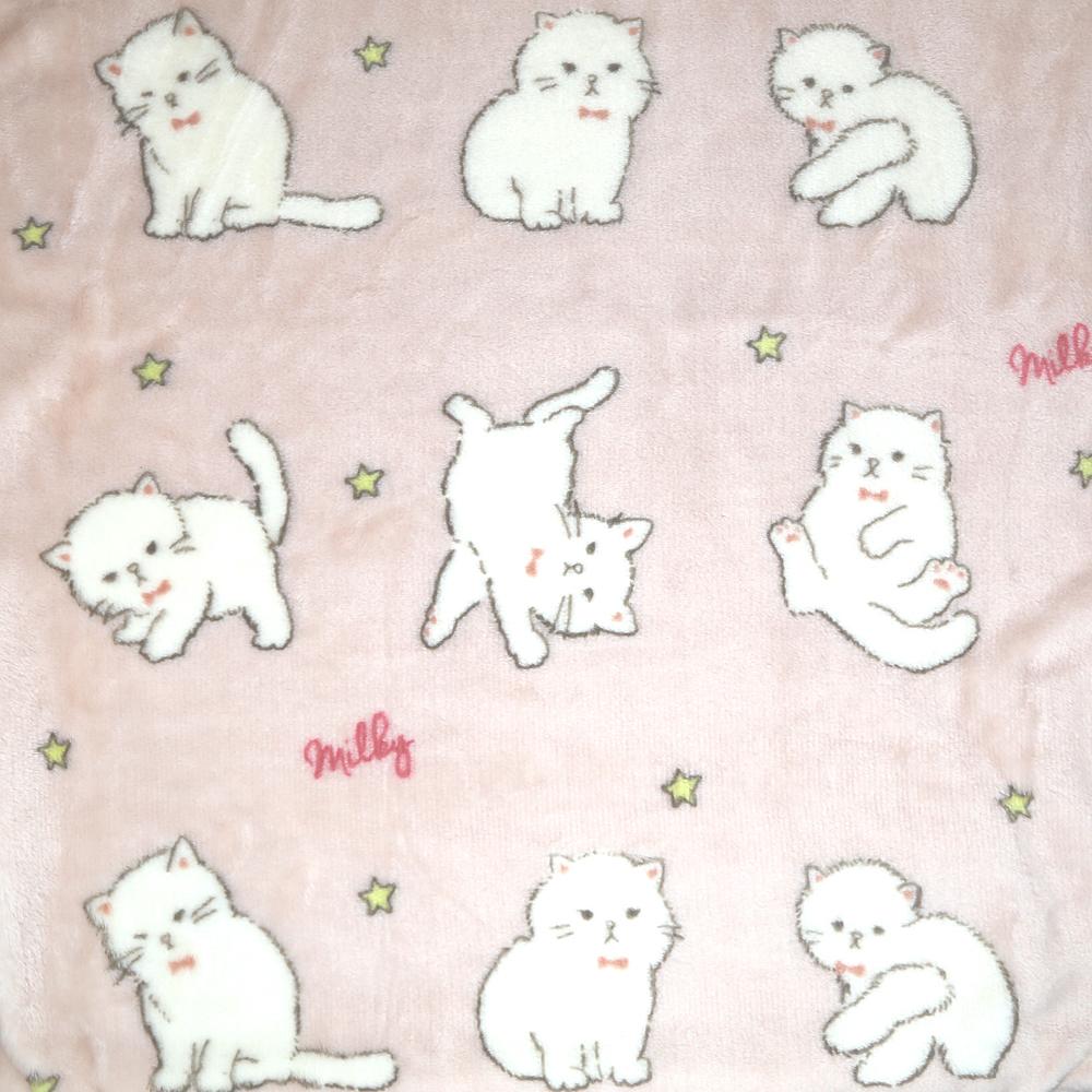 猫ブランケット(コネコのミルキーひざ掛け)