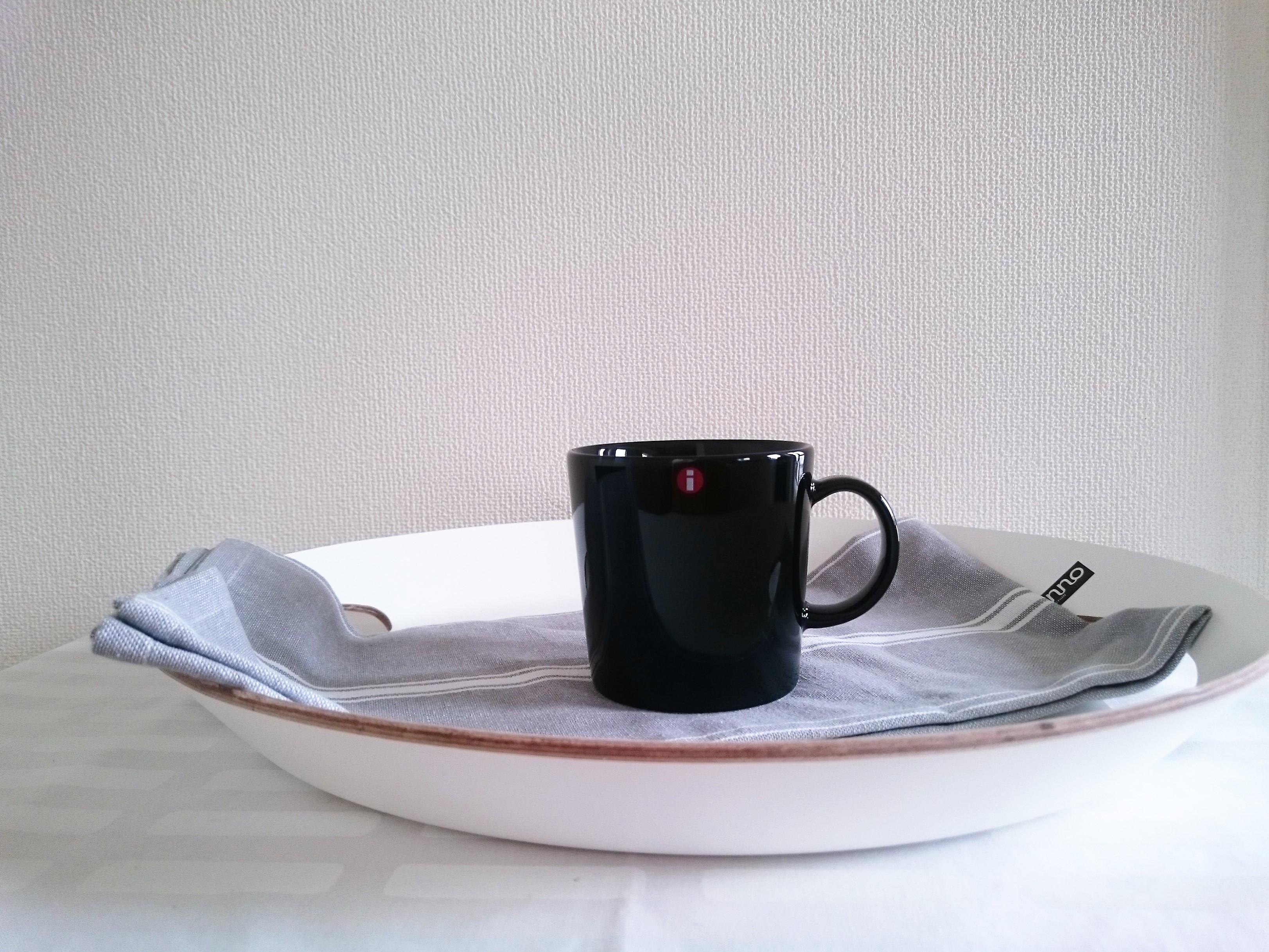 マグカップ / イッタラ / TEEMA ティーマ ブラック(0.3L)