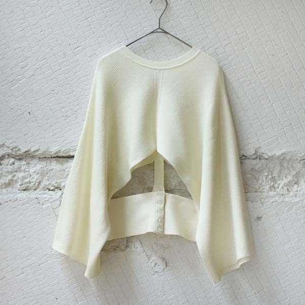 【TAN】 TRIM WEIGHT PULLOVER