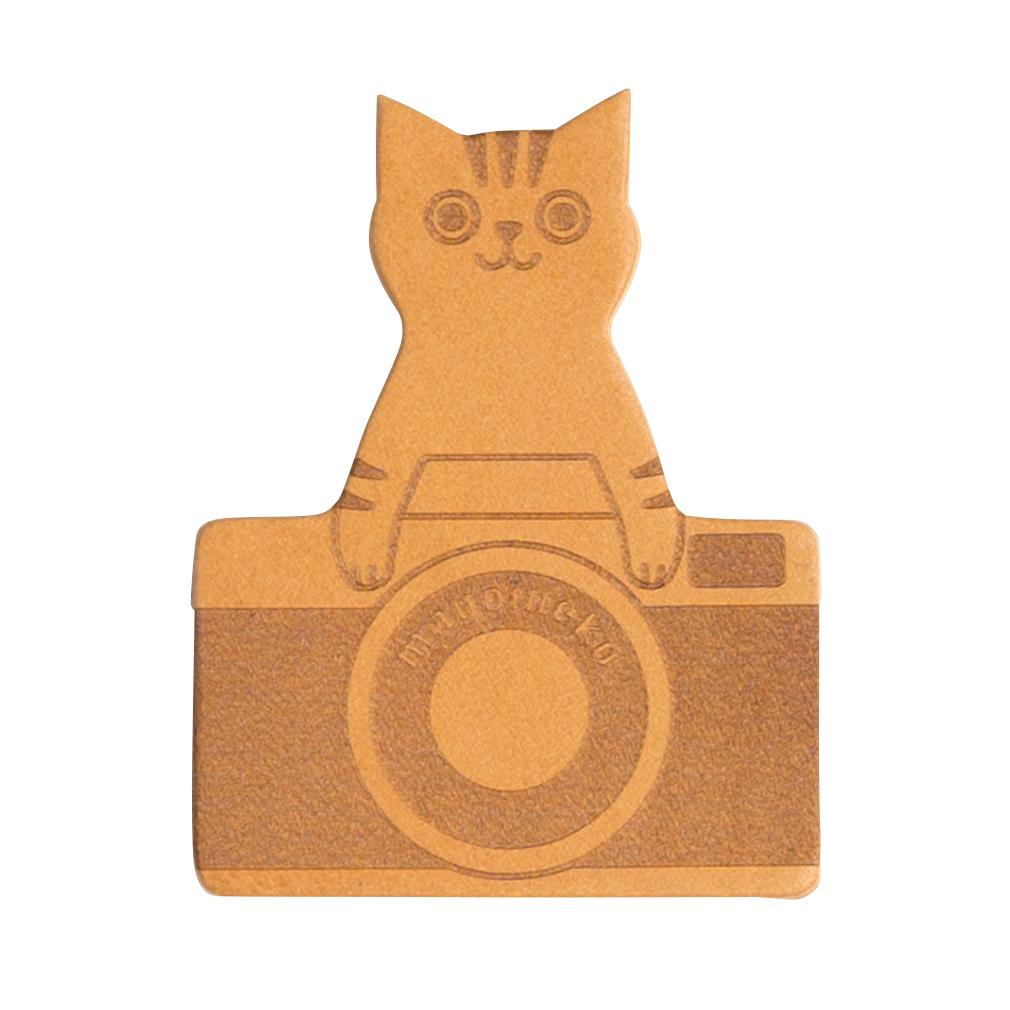 猫とカメラのしおり