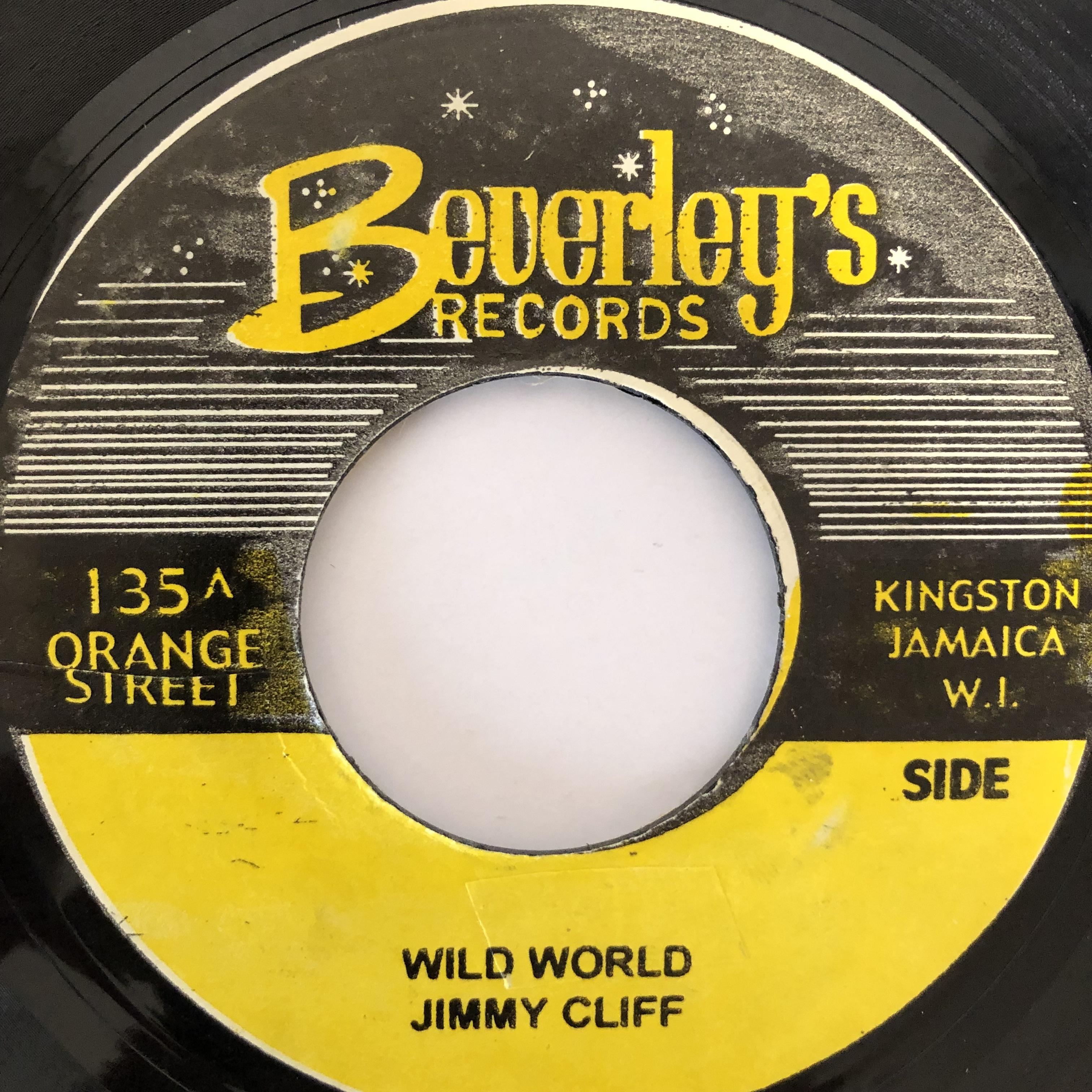 Jimmy Cliff(ジミークリフ) - Wild World【7-20237】