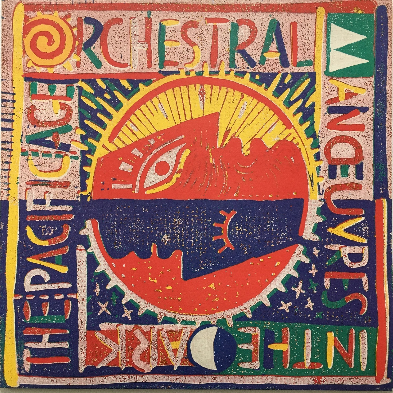 【LP・英盤】 Orchestral Manoeuvres In The Dark  /  The Pacific Age