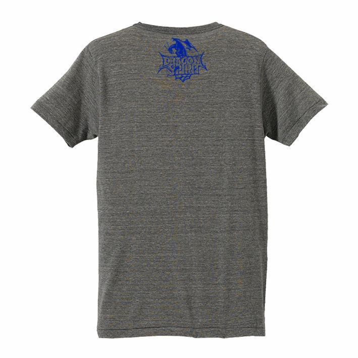 ドラゴンスピリット VネックTシャツ「Twin Heads V-Neck Tee」 / GAMES GLORIOUS