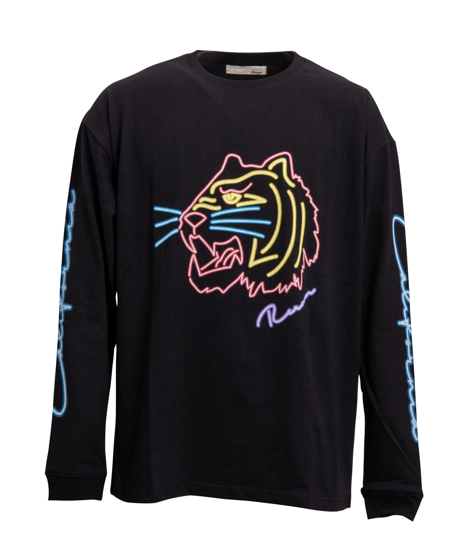 NEON TIGER BIG LONG SLEEVE[REC162]