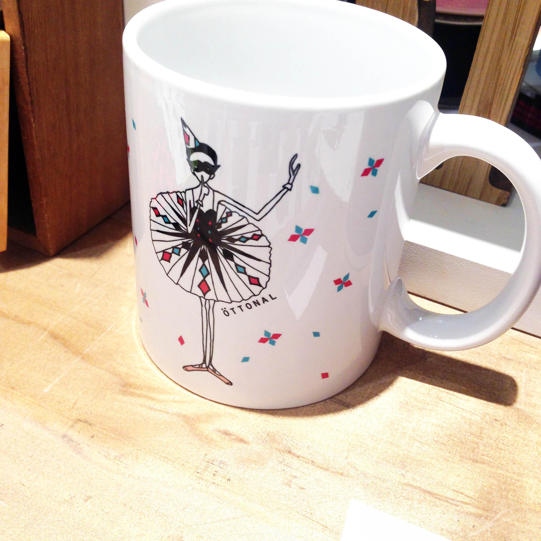 アレルキナーダ マグカップ - 画像2