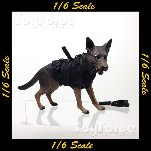【02734】 1/6 Playhouse シェパード犬
