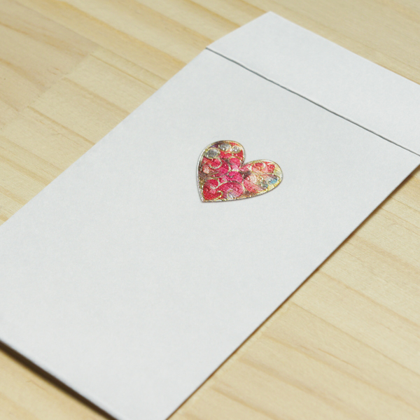 【ハート】ハッピーモチーフポチ袋 PHM04-2