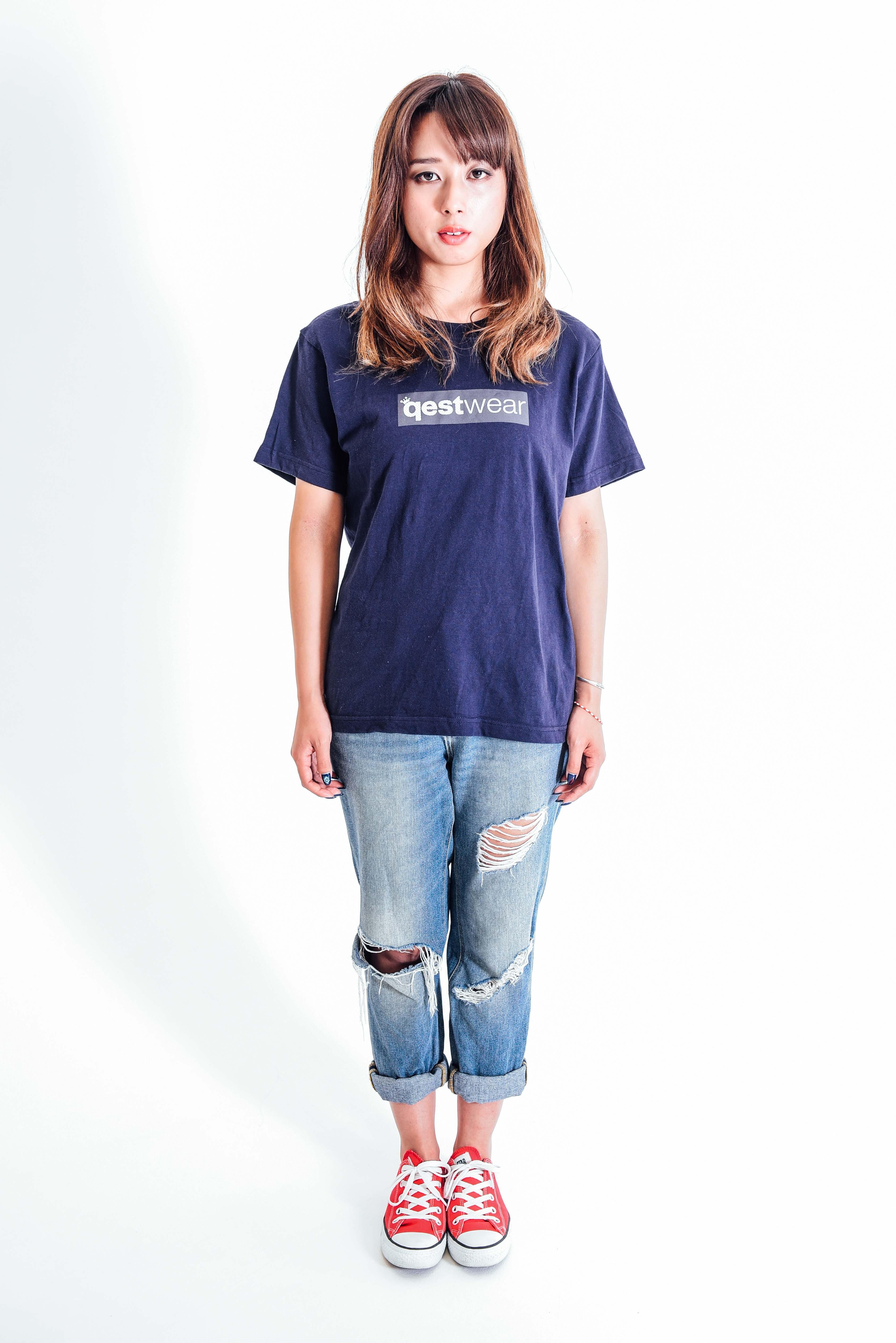 Box Logo Tshirt / Navy - 画像4