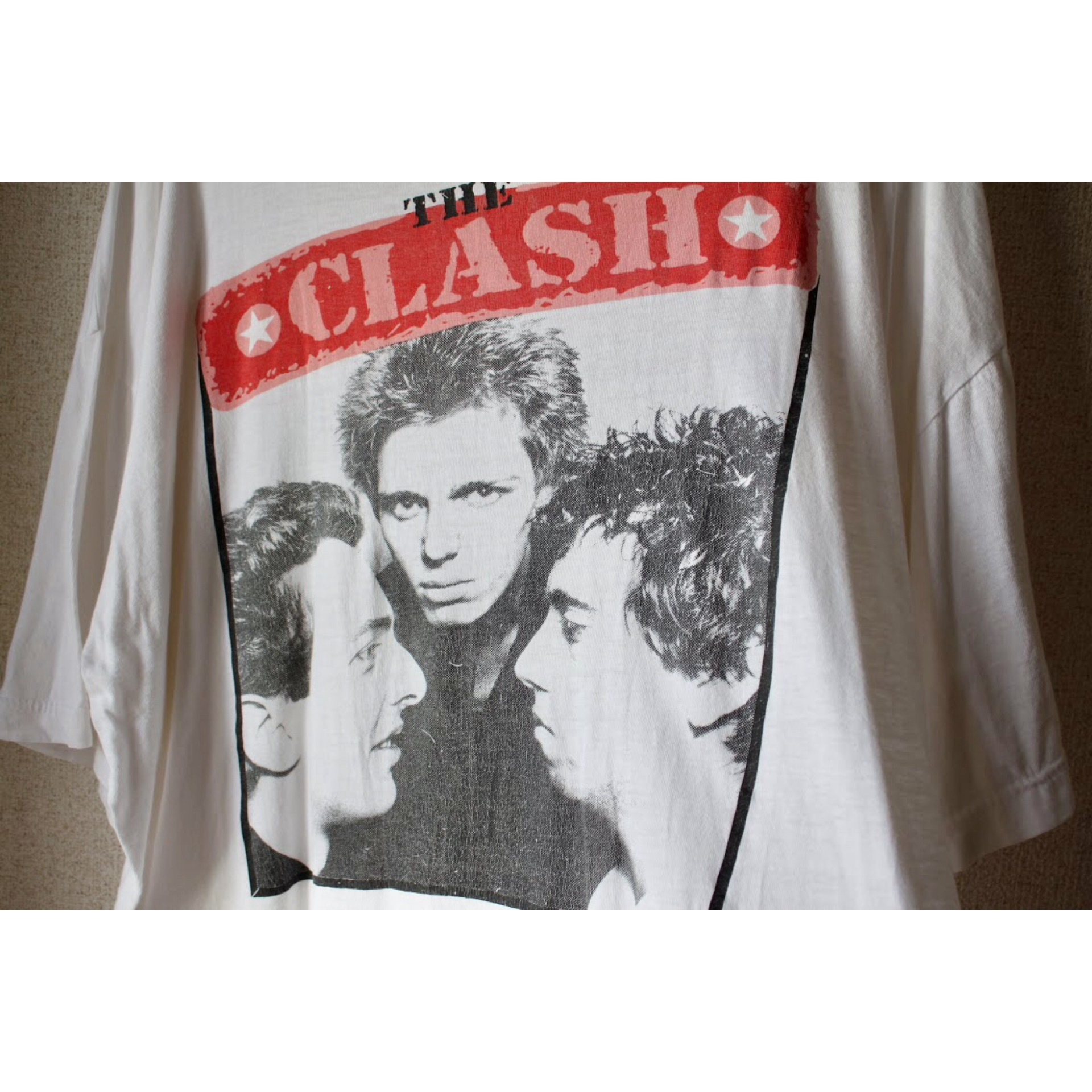 Vintage The CLASH t shirt