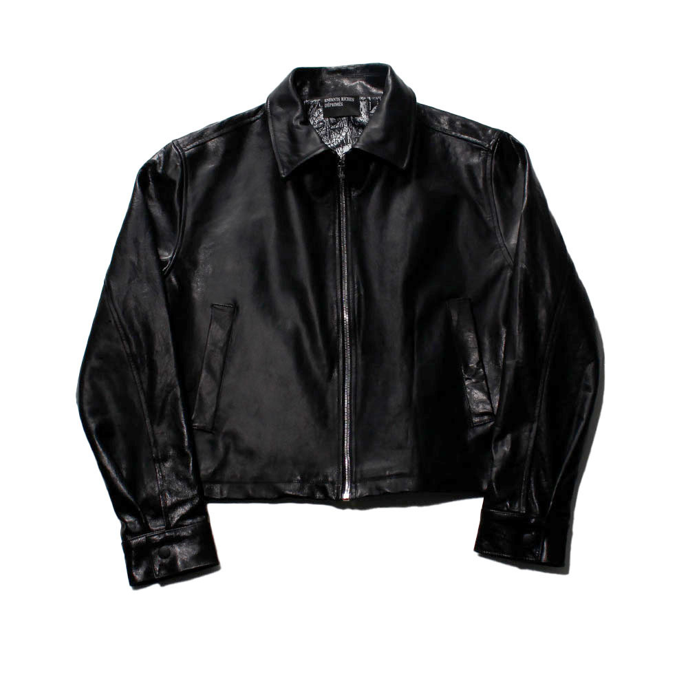 ENFANTS RICHES DEPRIMES Single Leather Jacket
