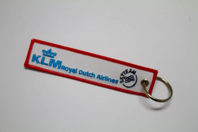 RemoveBeforeFlightキーホルダー KLM