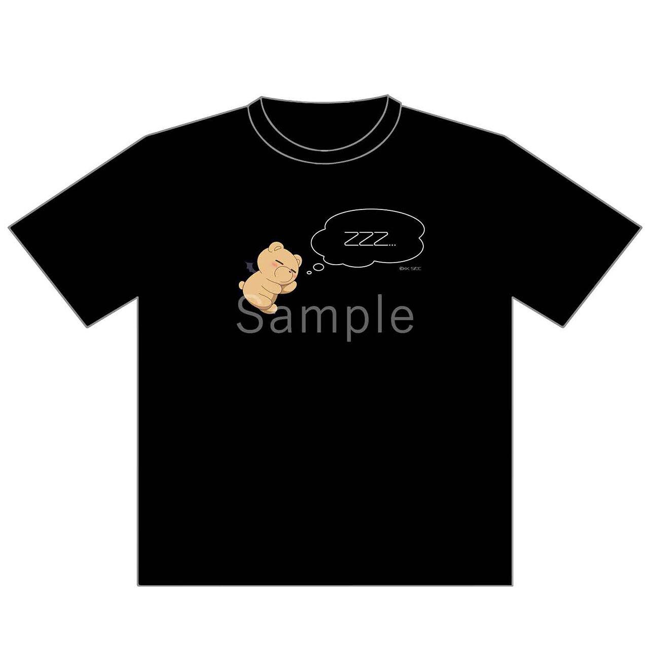 【4589839356190予】魔王城でおやすみ でびあくまTシャツ/Lサイズ