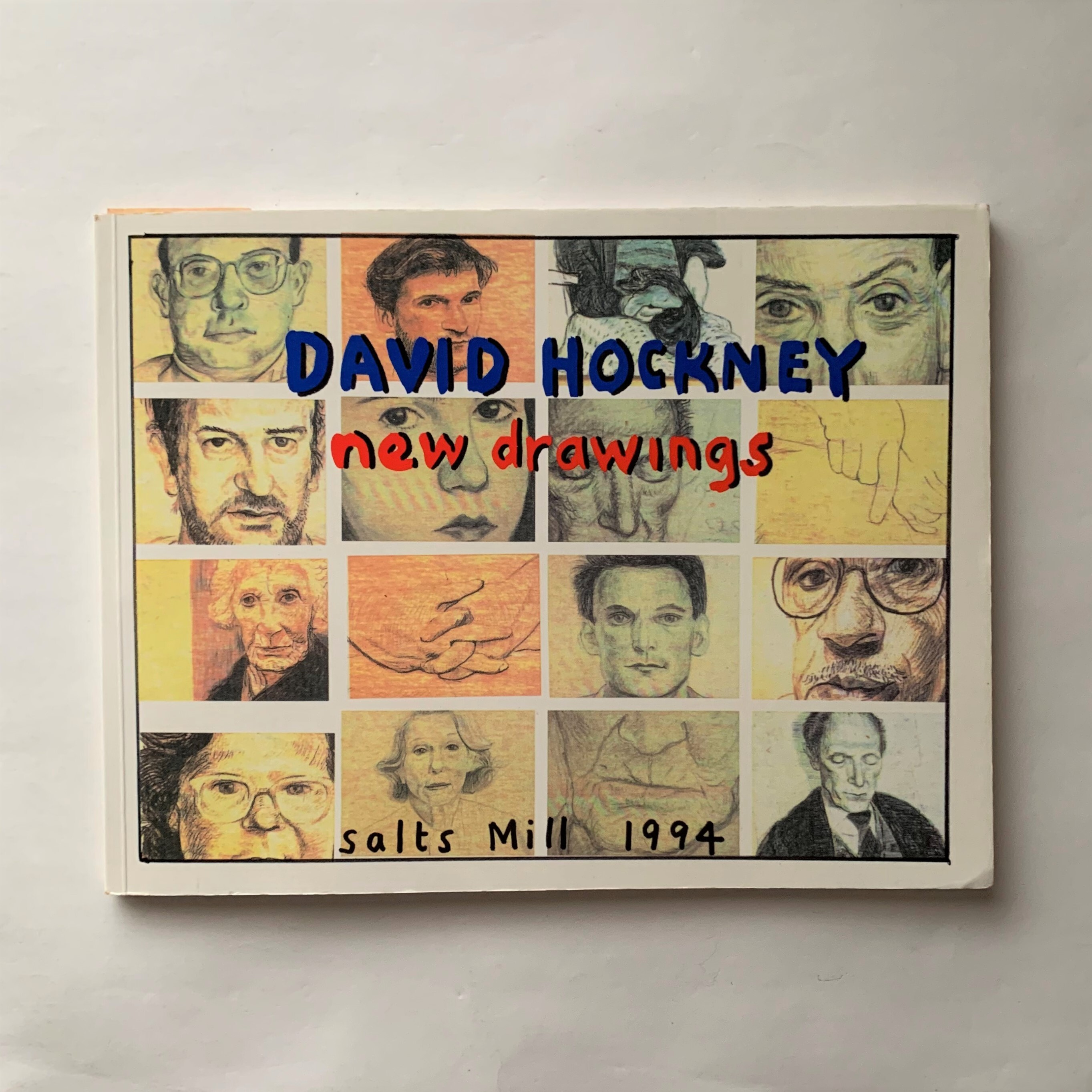 Some Drawings of Family, Friends and Best Friends, 1993-1994 / David Hockney