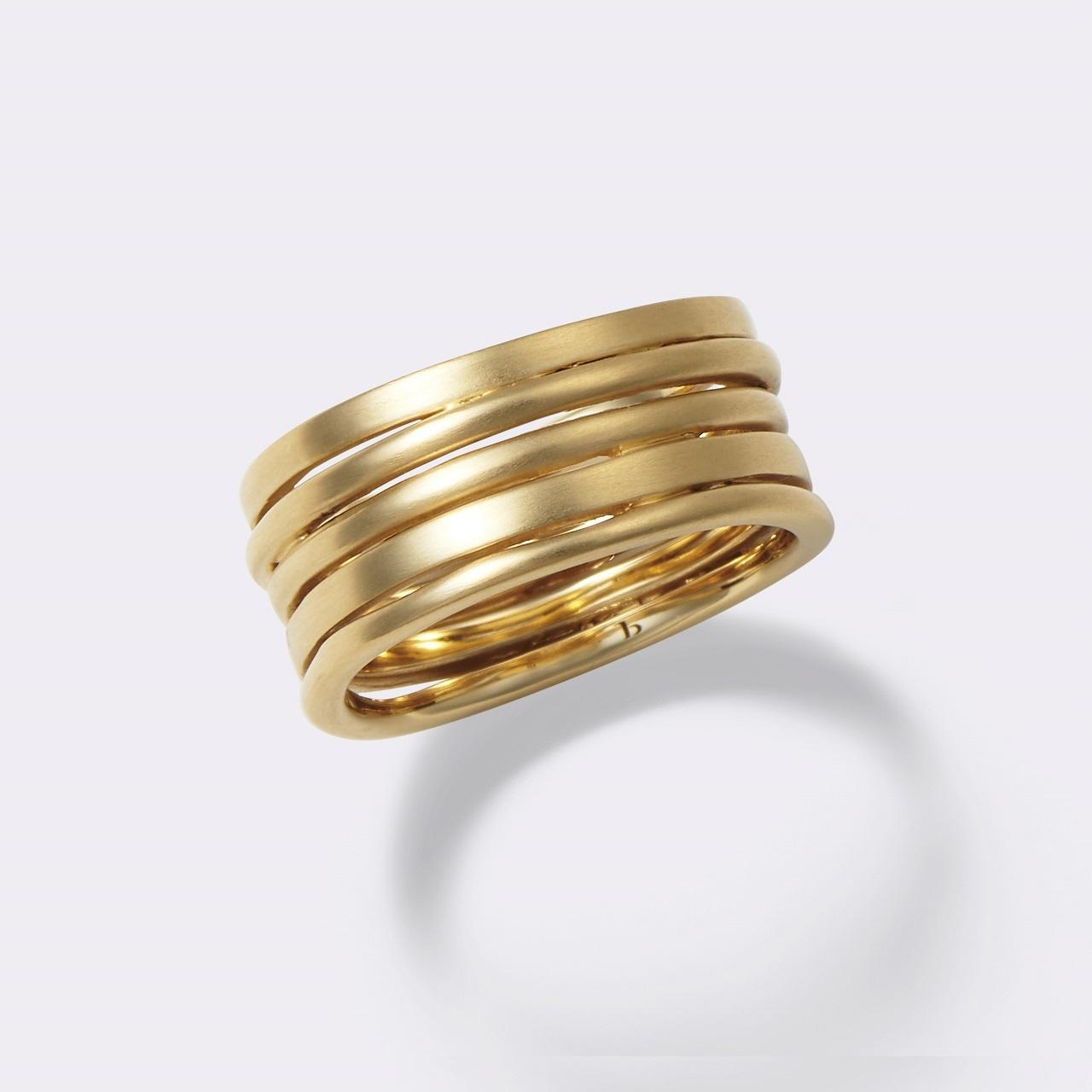Couche Ring K18YG( クッシュリング K18イエローゴールド)