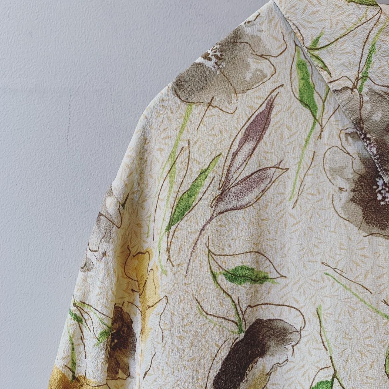 vintage design silk blouse