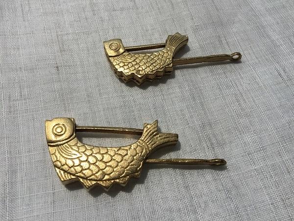 魚のかたちの鍵 大