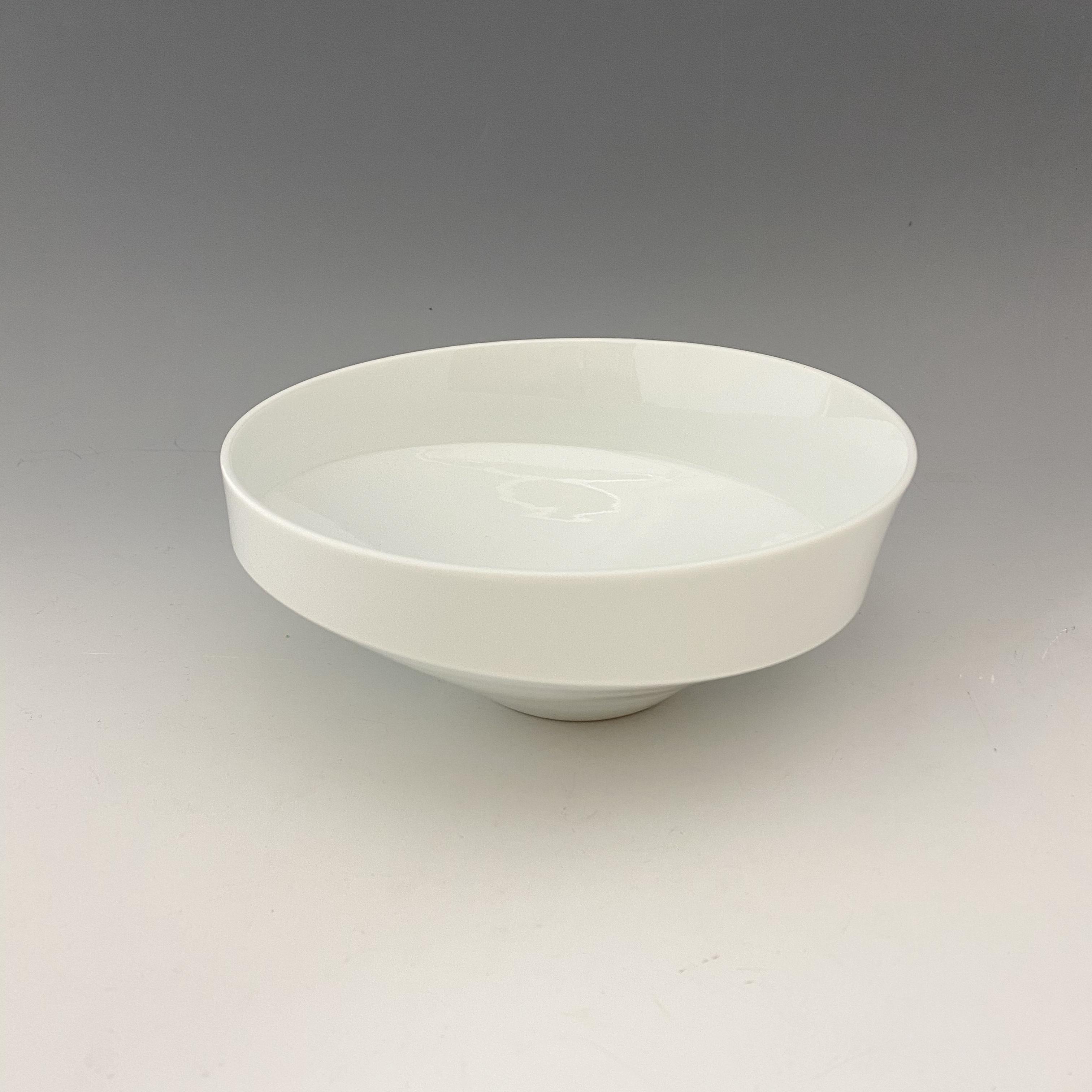 【中尾純】白磁鉢(小•深)