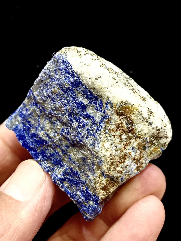 2) ラピスラズリ・パイライト共生原石