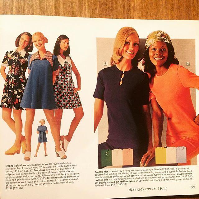 ファッションの本「Fashionable Clothing: From the Sears Catalogs - Early 1970s」 - 画像3