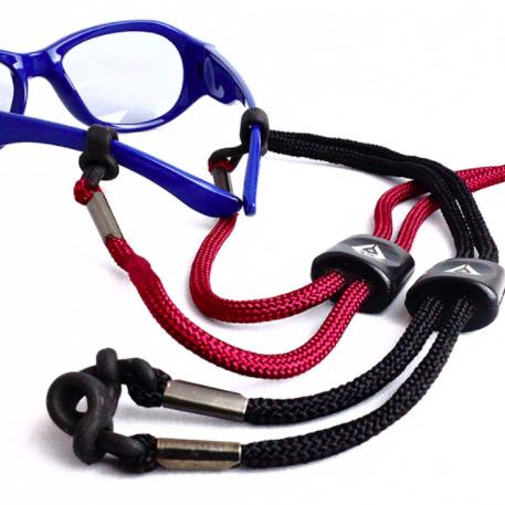 delieb  メガネストラップ (カラー:ブラックのみ)落下防止 サングラス メガネ 眼鏡 日よけ 暑さ対策 お出かけ 紫外線対策